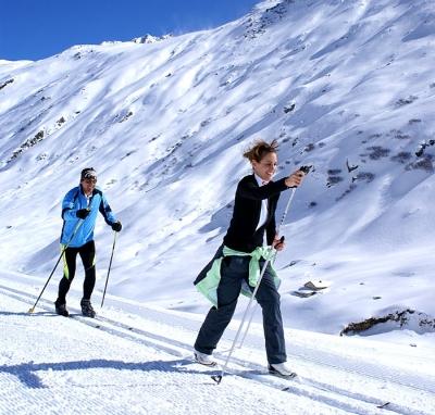 Běžkařské stopy ve Ski Amadé