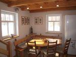 Donky u pramene Nisy - sklárna - kuchyň