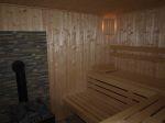 Domky u Nisy - sklarna - sauna