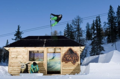 Ski Amadé snowboard